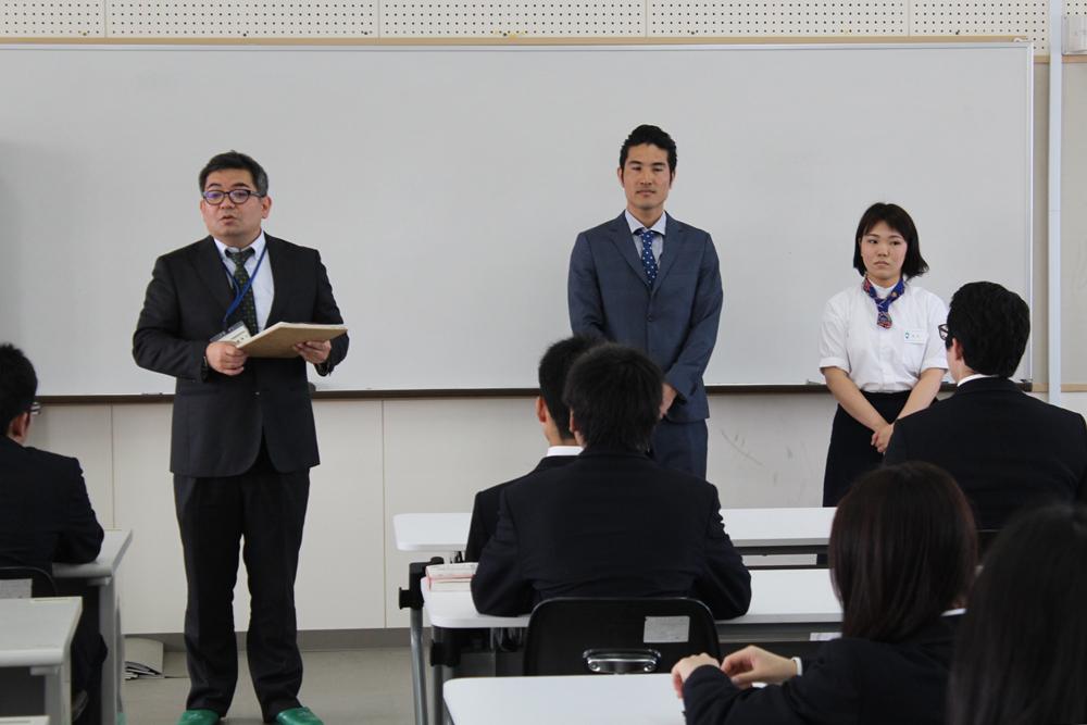 宮城泰三先生、新垣、松永3ショット